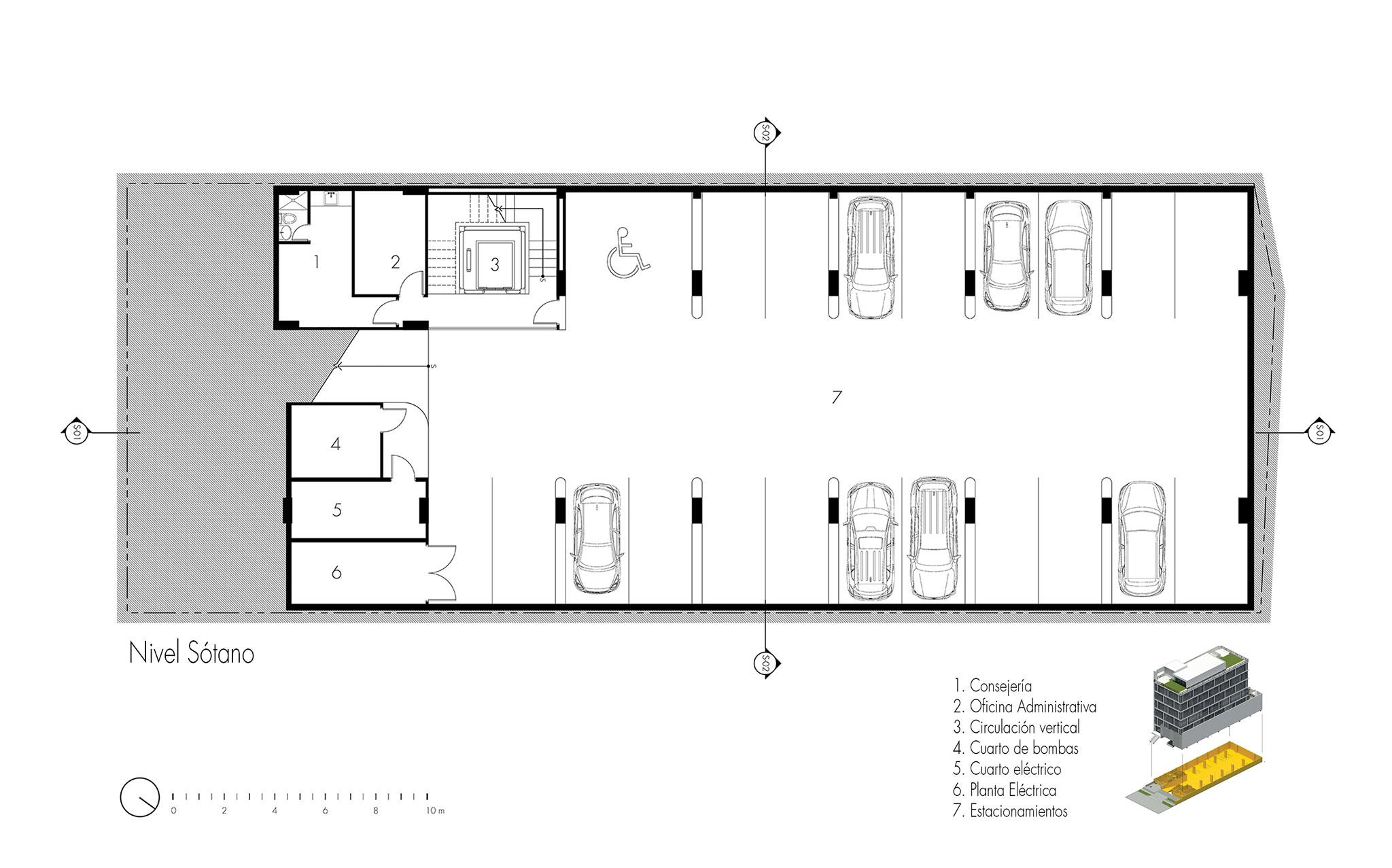 Ventura office un edificio de oficinas en ciudad de panam for Planos de oficinas administrativas