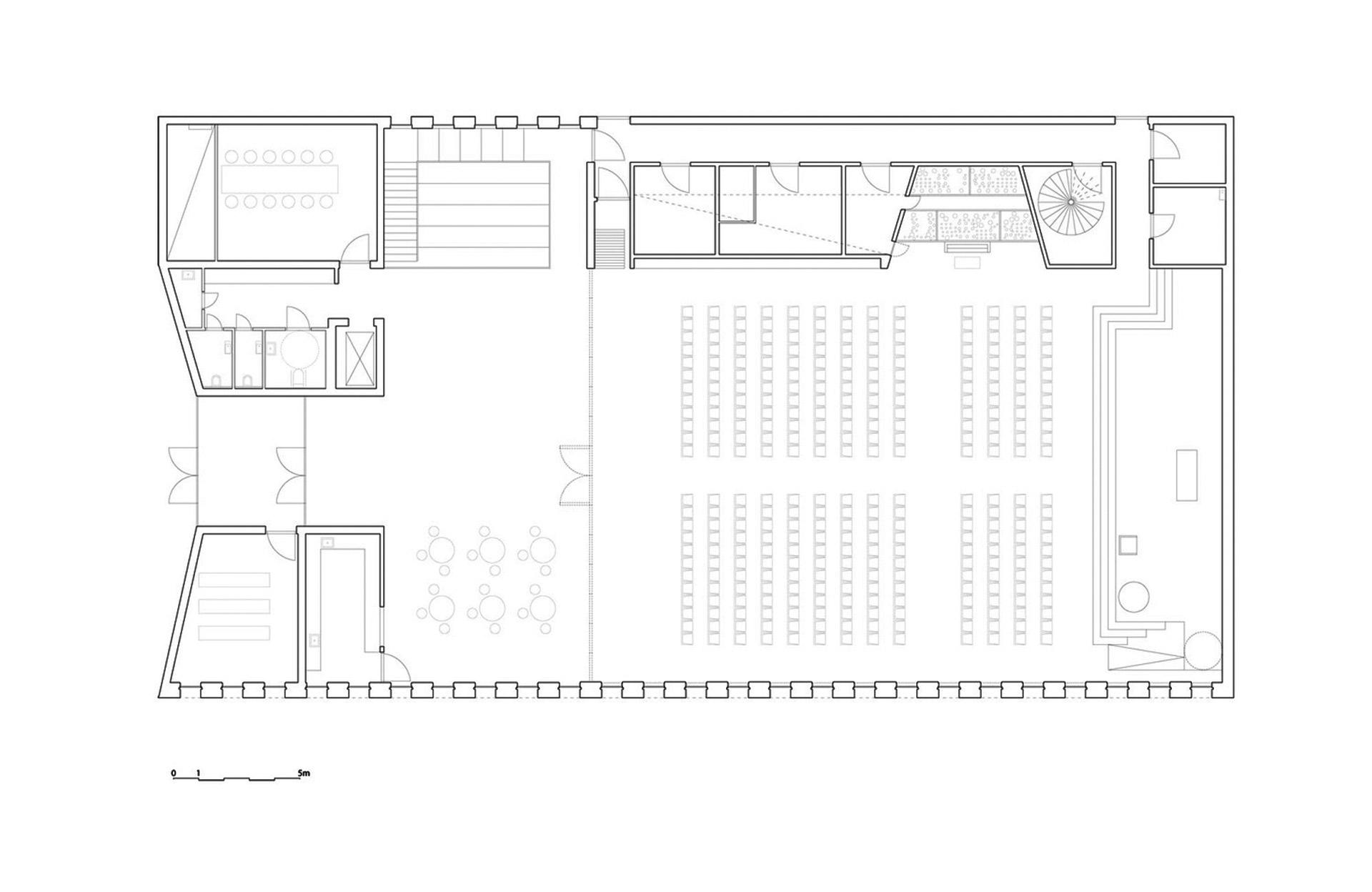 Iglesia de la comunidad knarvik por reiulf ramstad metalocus for Que es una planta arquitectonica