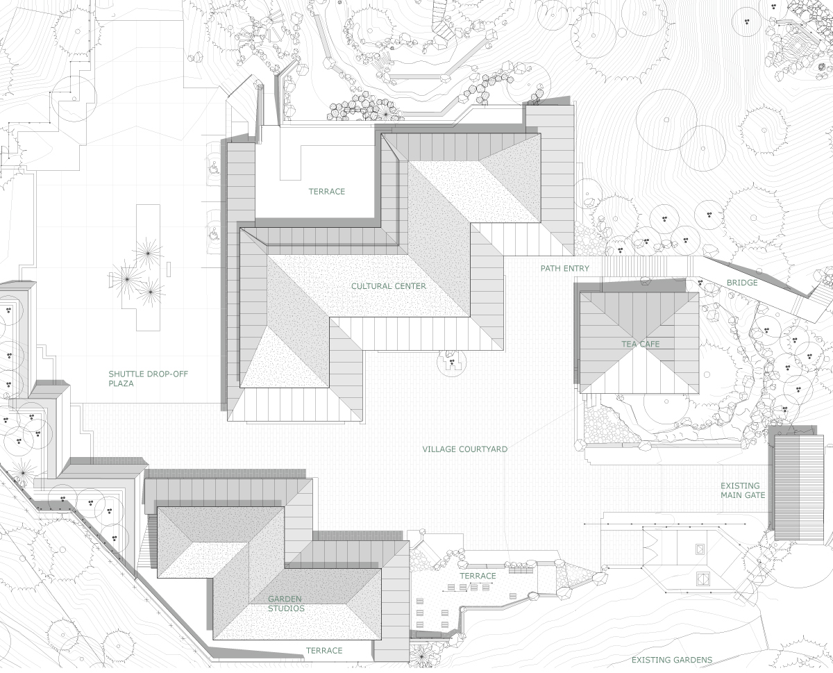 The Spaces Between Portland Japanese Garden Expansion By