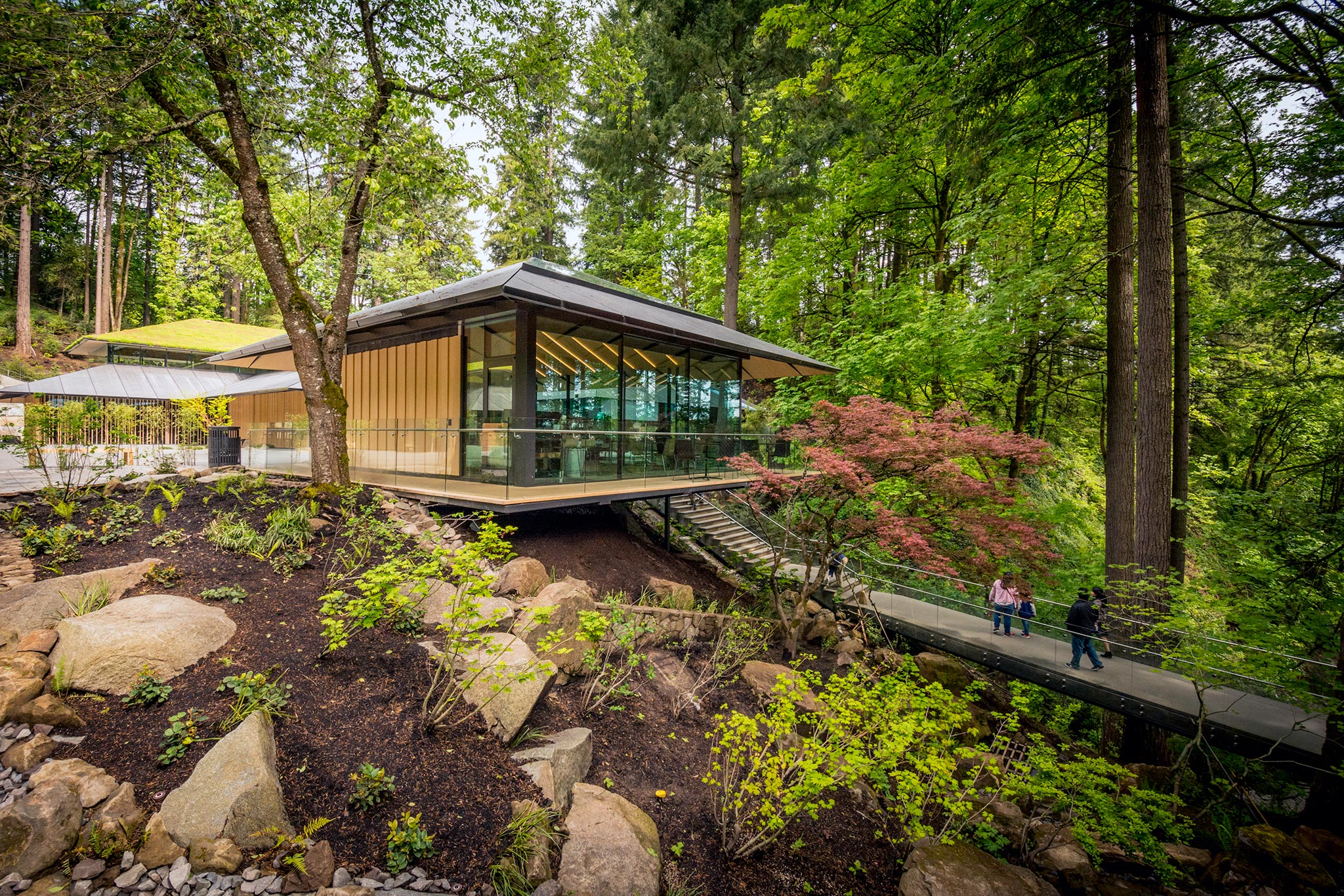 The Spaces Between: Portland Japanese Garden Expansion by Kengo Kuma ...