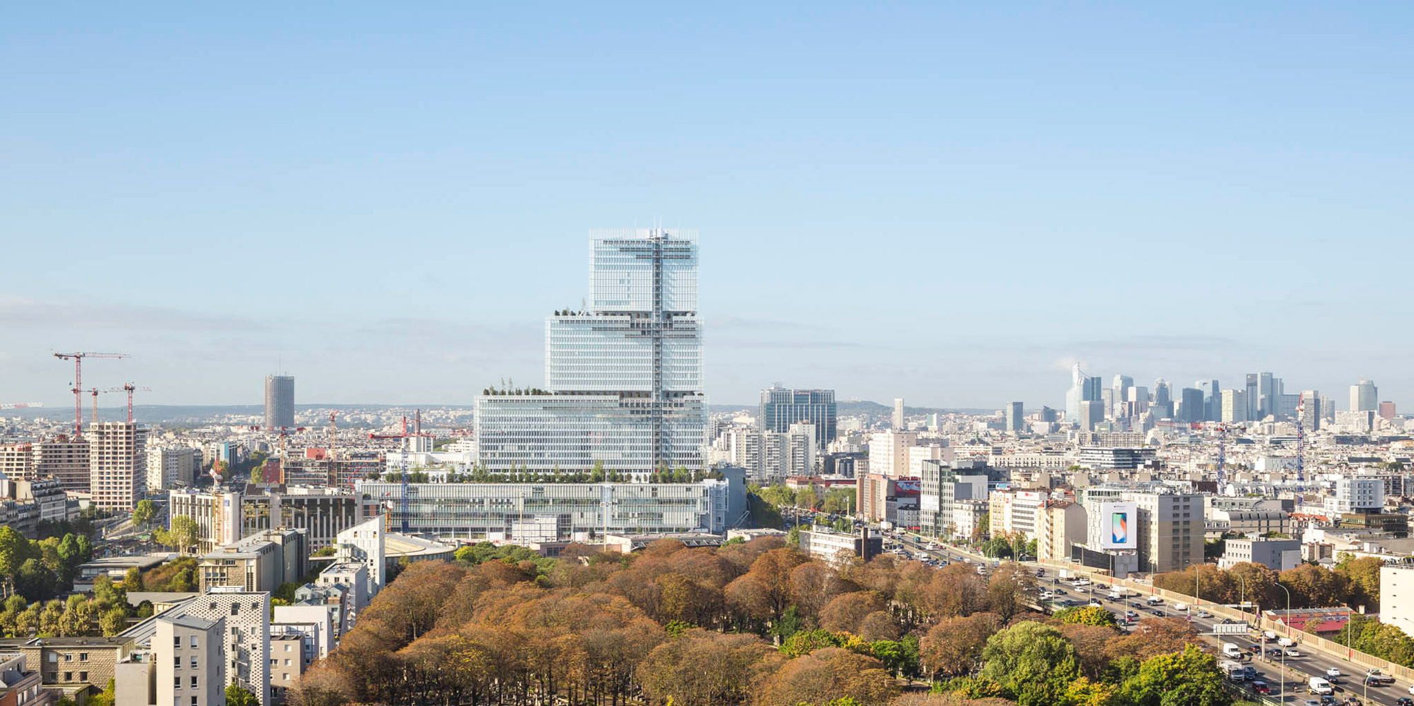 Paris courthouse complex by renzo piano building workshop - Office tourisme italien a paris ...