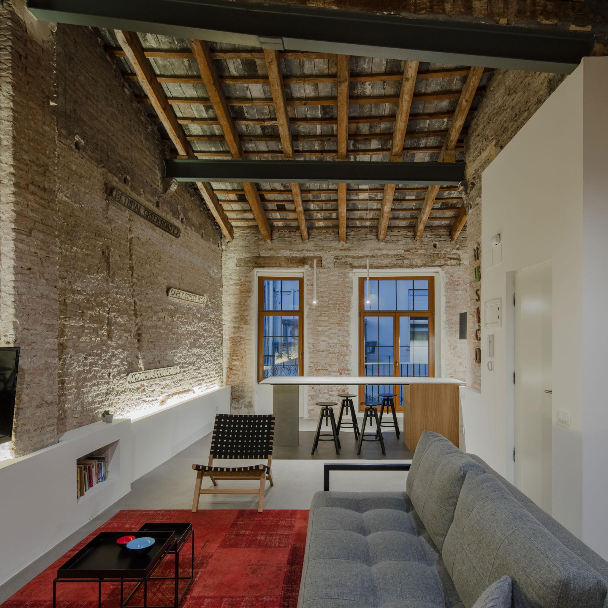 Apartment Musico Iturbi By Roberto Di Donato Architecture