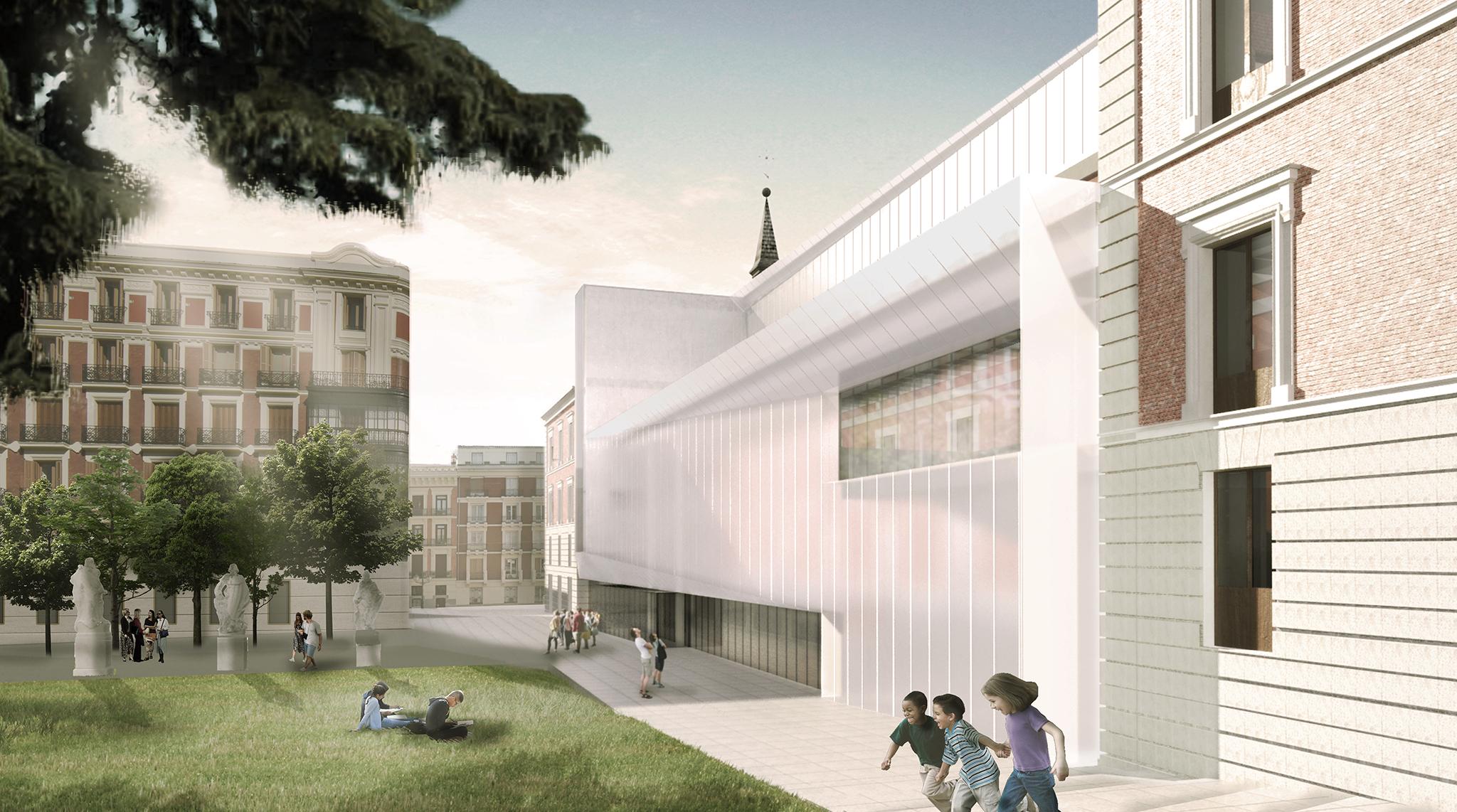La visi n del museo del prado de gluckman tang lvarez for Fernando porras arquitecto