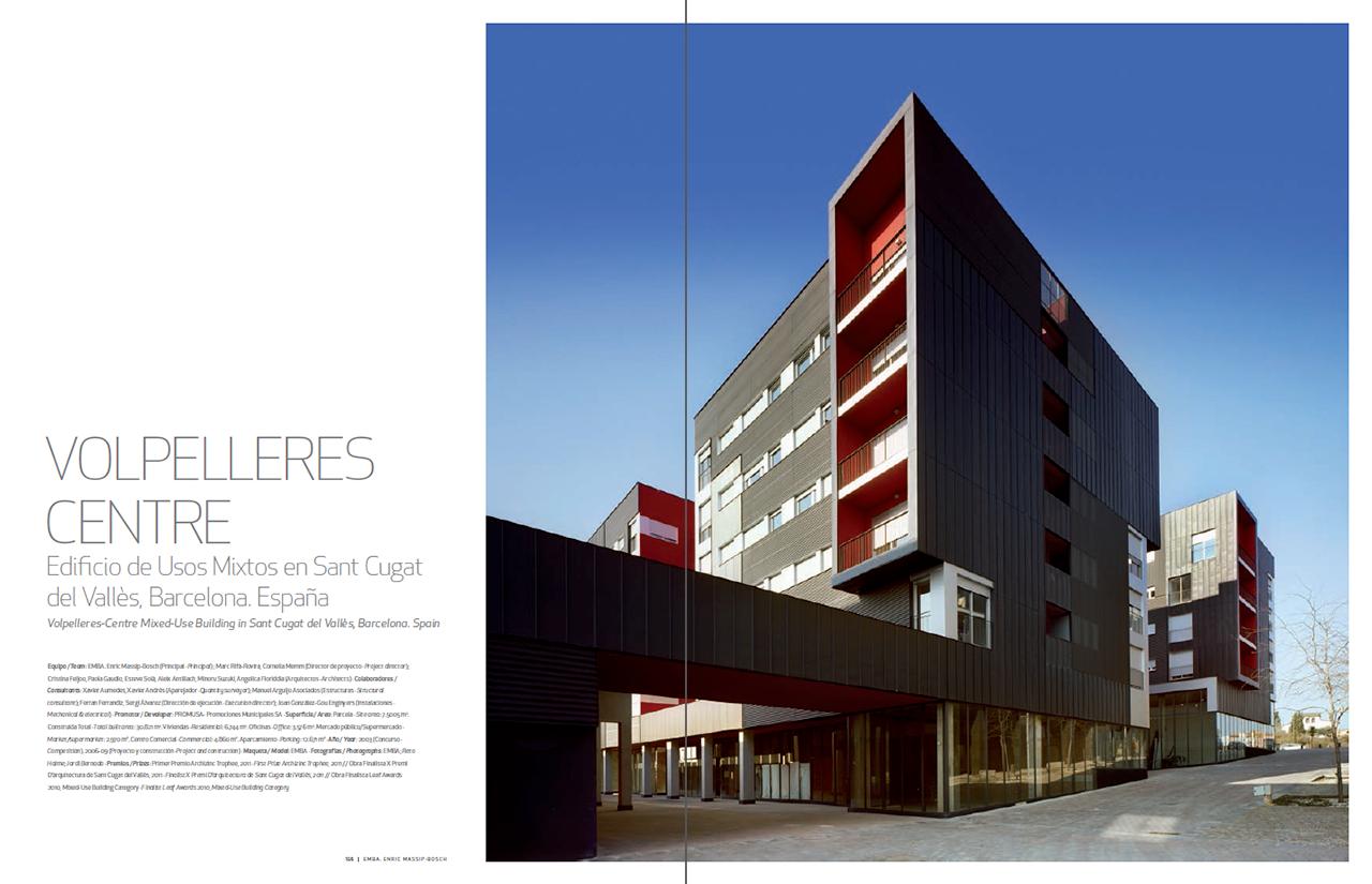 emba enric massip bosch arquitectura 2005 2015 metalocus On paginas arquitectura