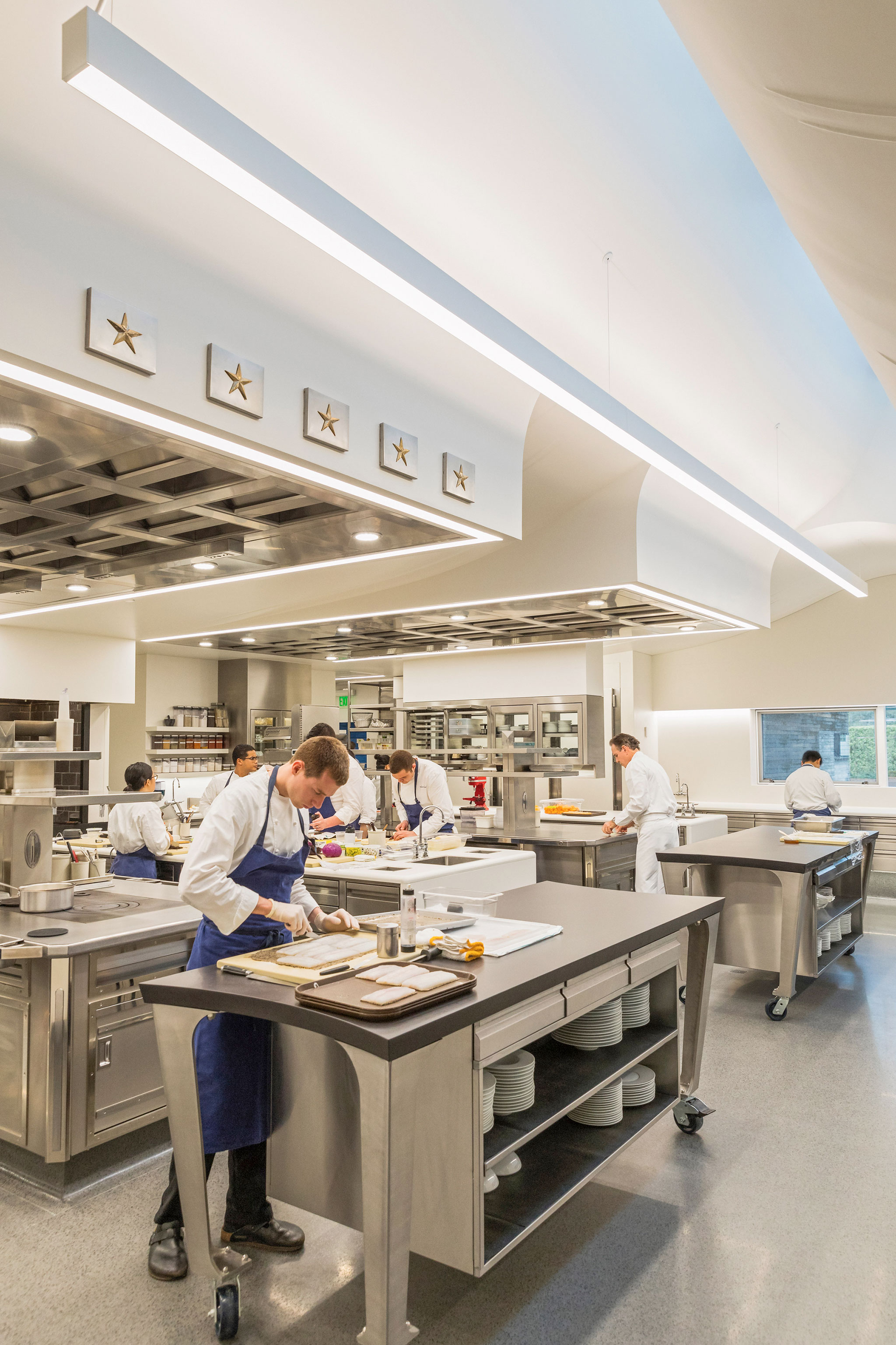 The French Laundry restaurant is renovated by Snøhetta | METALOCUS