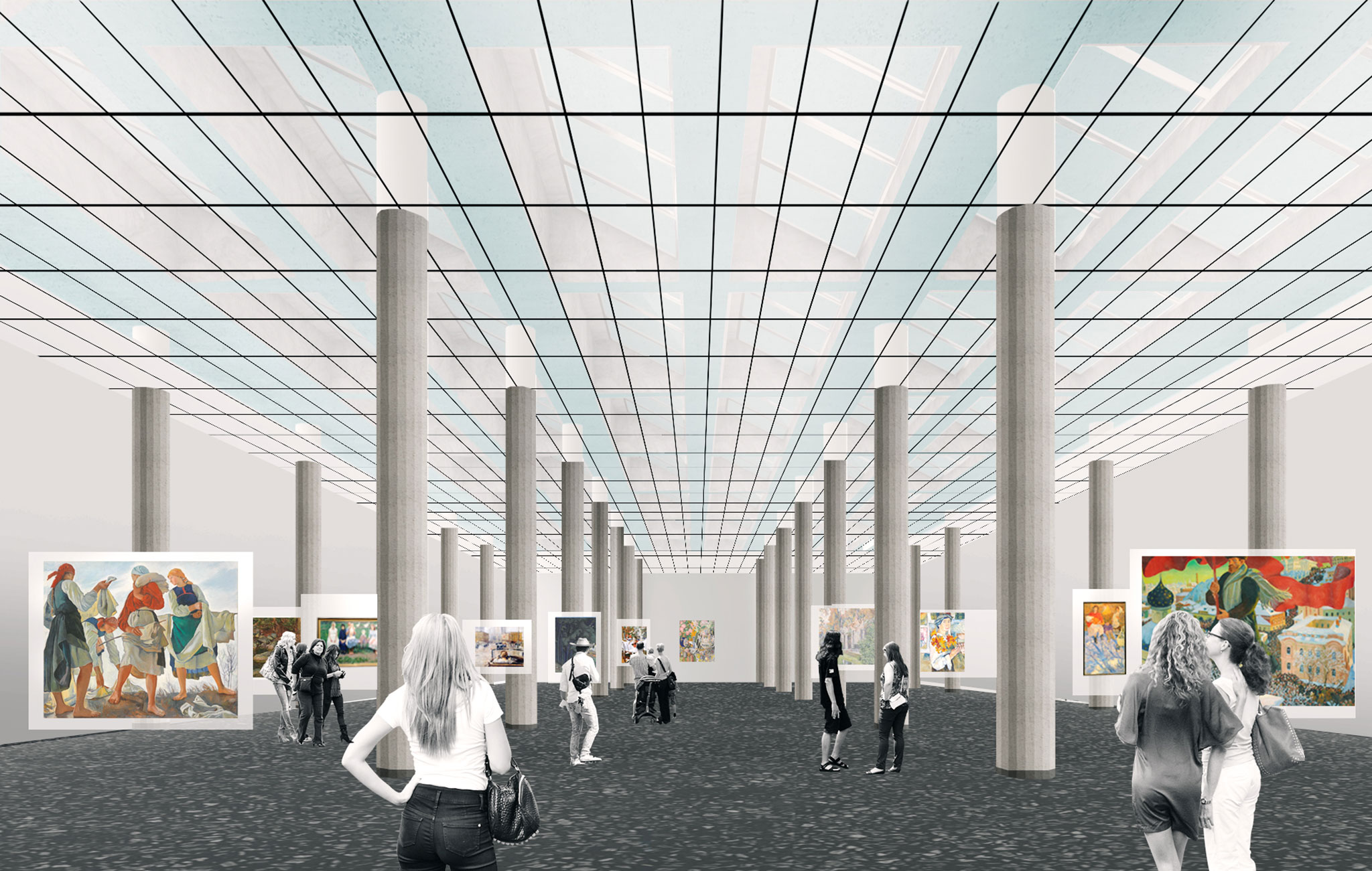 Oma rem koolhaas to transform the new tretyakov gallery for Oma design museum