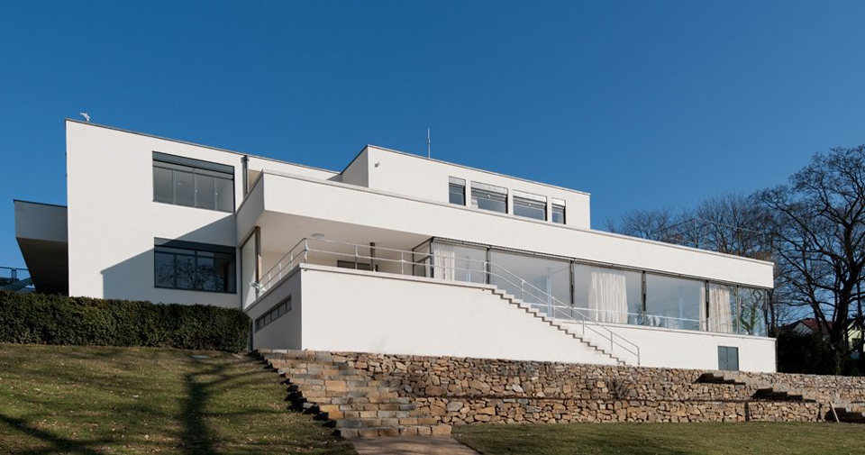 Mies Der Rohe Villa Tugendhat tugendhat house by ludwig mies der rohe metalocus