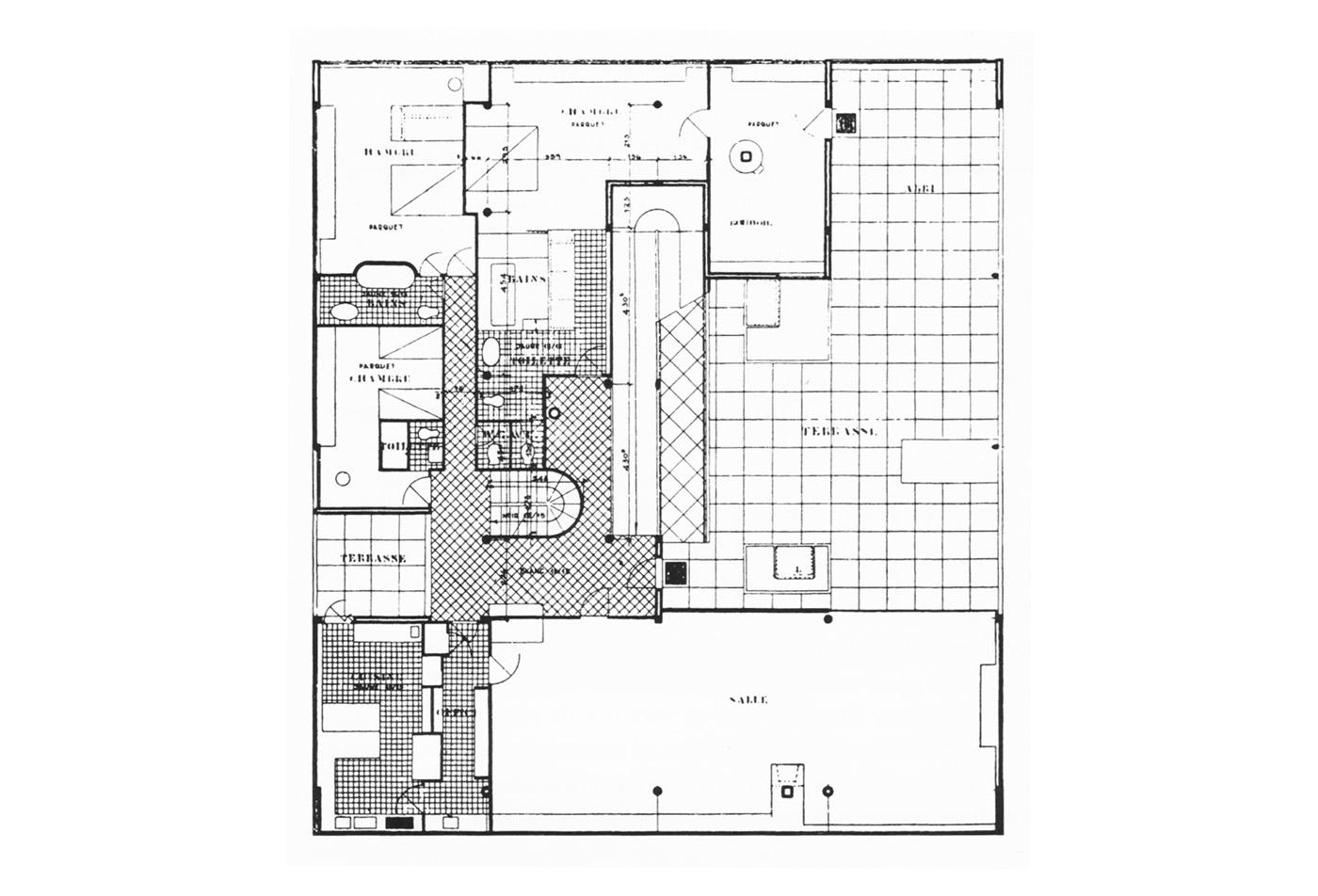 Villa Savoye Le Corbusier S Machine Of Inhabit Metalocus