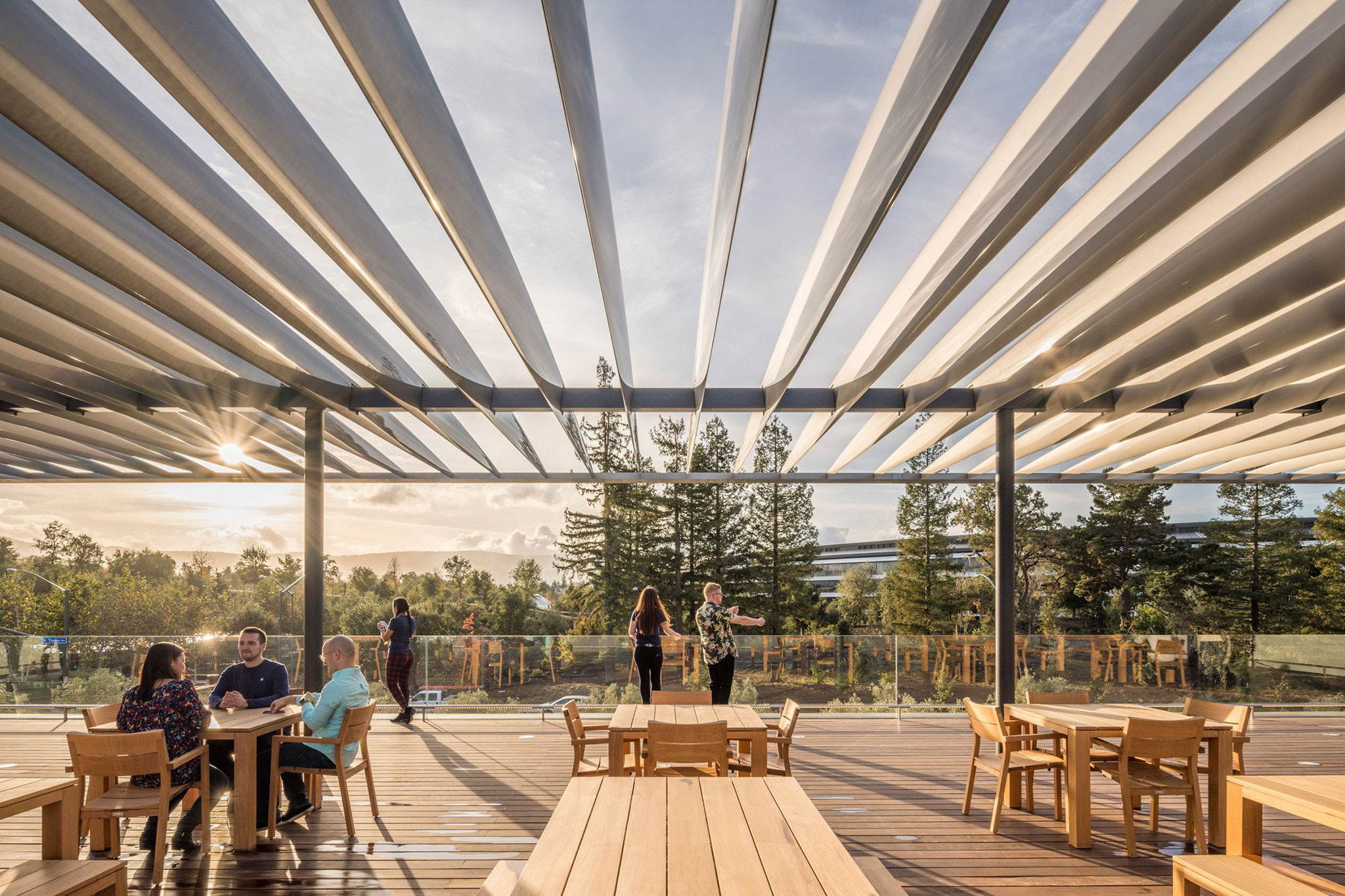 Apple Park Visitor Center Designed By Foster Partners
