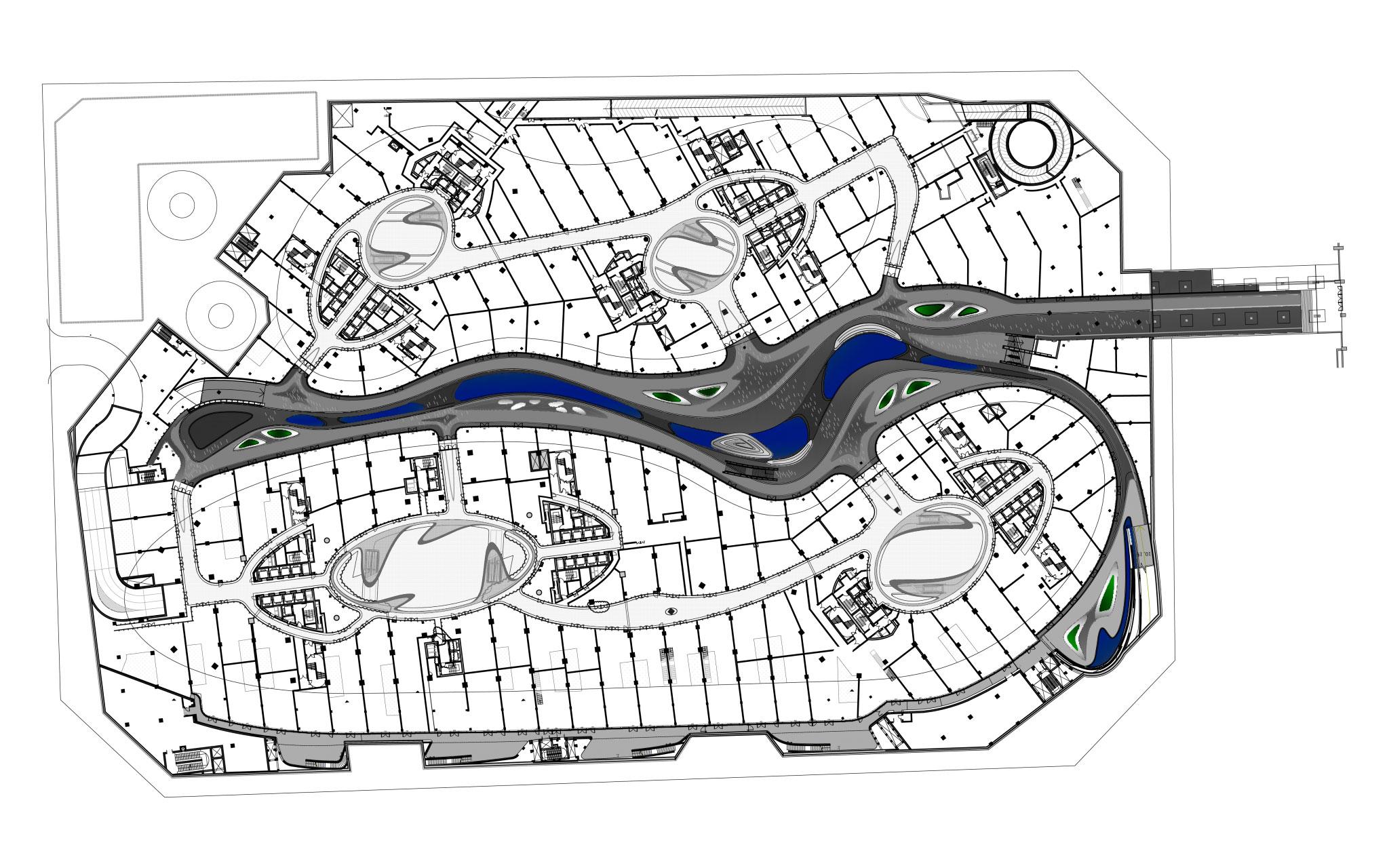 Zaha Hadid Floor Plans Zaha Hadid S Galaxy Soho Opens In Beijing Metalocus