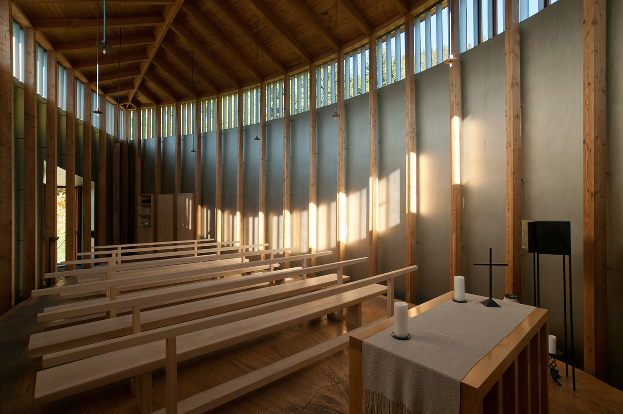 Taking Care Of Detail. Saint Benedict Chapel By Peter