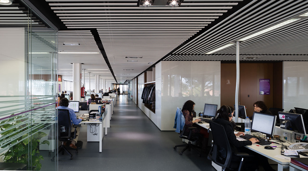 New ono corporate headquarters metalocus for Ono oficinas