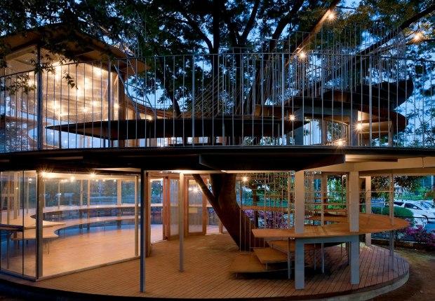 Ring Around a Tree by Tezuka Architects. Photo © Katsuhisa Kida/FOTOTECA.