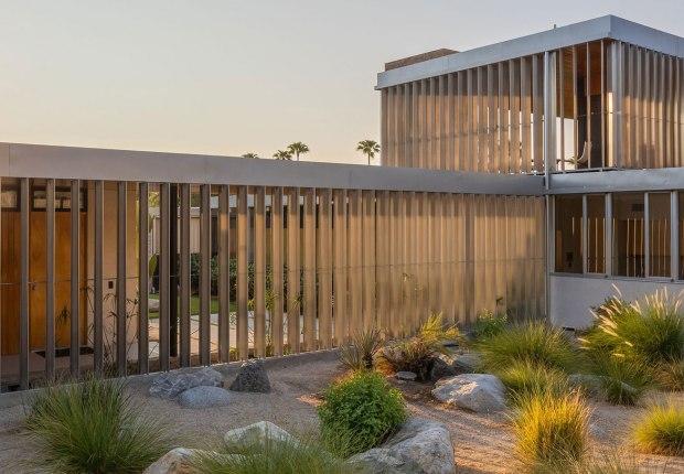 Casa Kaufmann del desierto. Fotografía por Daniel Salomon, cortesía de Vista Sotheby's International Realty
