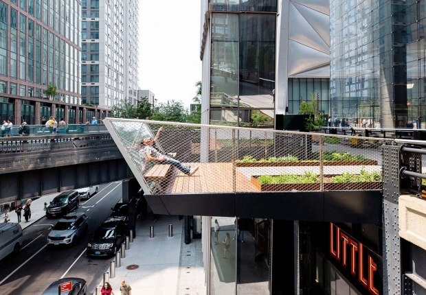 The High Line opens its last section, the Spur. Photograph by Liz Ligon, image courtesy of High Line