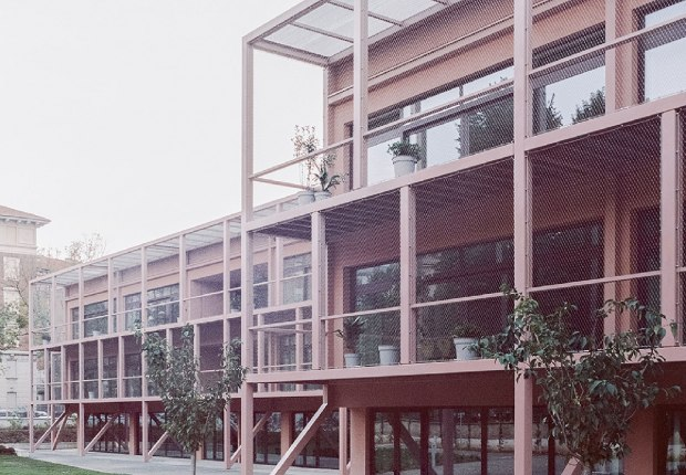 Enrico Fermi School by BDR bureau. Photography by Simone Bossi