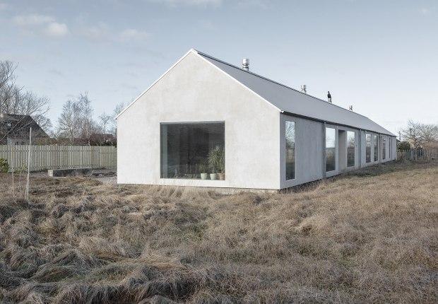 Salt house by Brigita Bula Architects. Photograph by Reinis Hofmanis