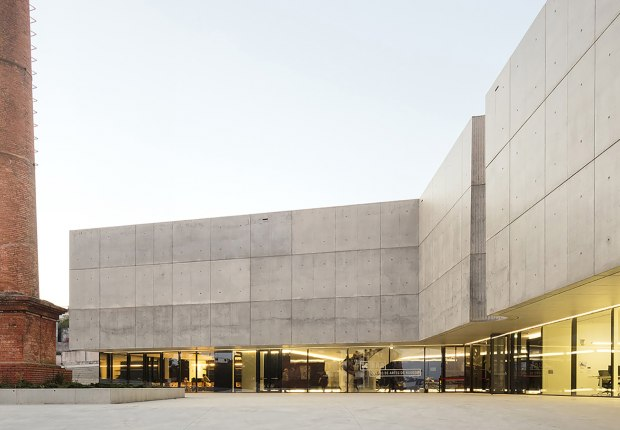CAA – Agueda Arts Centre by AND-RÉ. Photograph by Fernando Guerra. FG+SG