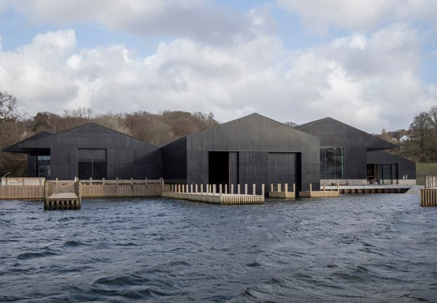 Windermere Jetty boat museum by Carmody Groarke. Photograph by Christian Richter
