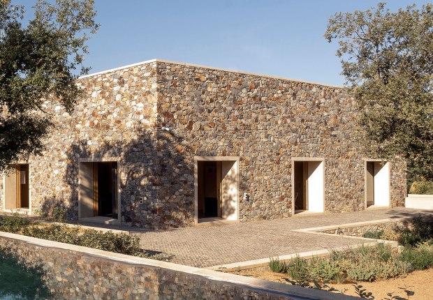 Stone House by Tuñon Arquitectos. Photograph by Tuñon Arquitectos