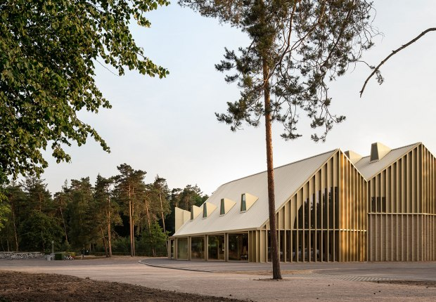 Park Pavilion The Hoge Veluwe National Park by De Zwarte Hond. Photograph by Stijn Bollaert