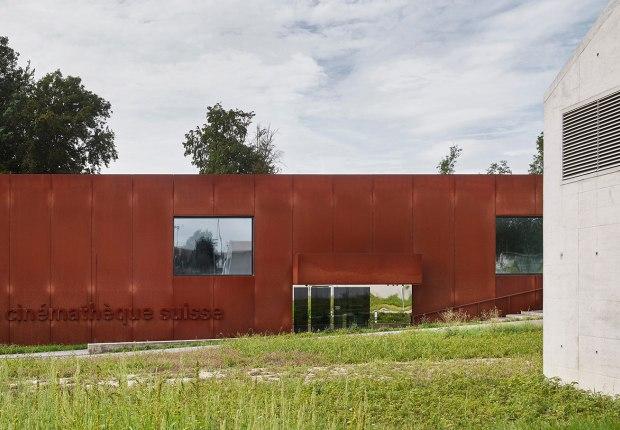 Cinémathèque suisse by EM2N. Photograph by Damian Poffet