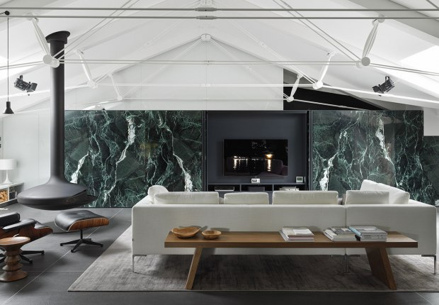 DLN Penthouse by GEZA Architettura. Photograph by Gianni Antoniali