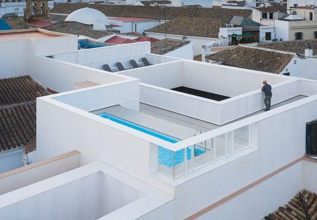 Hotel Posada del Lucero por Adolfo Pérez Arquitectura. Fotografía por Fernando Alda
