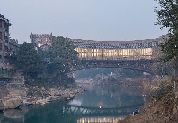 Jishou Art Museum by Atelier FCJZ. Photograph by FangFang Tian