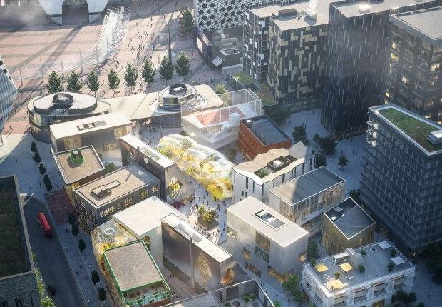 Design District by Schulze+Grassov. Image courtesy of Design District