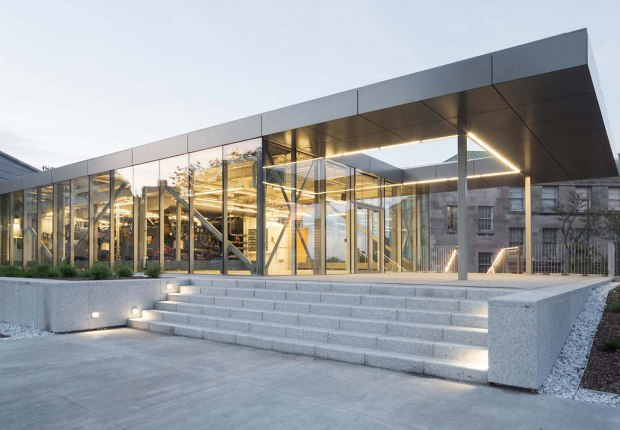 McGill University power plant by Les architectes FABG. Photograph by Steve Montpetit