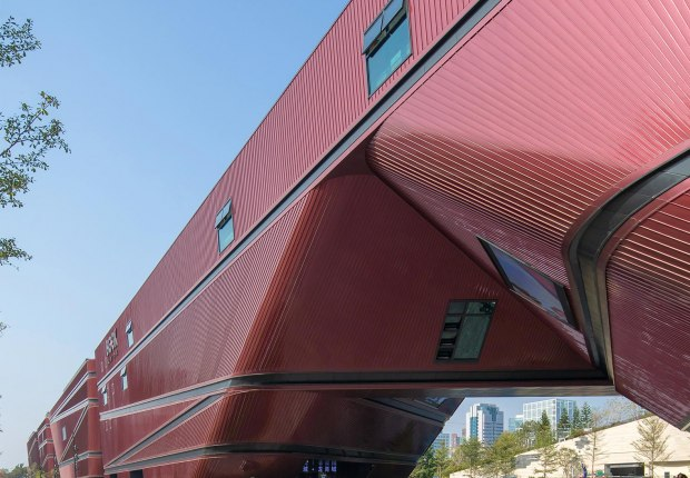 Longgang Cultural Centre by mecanoo. Photograph by Zhang Chao