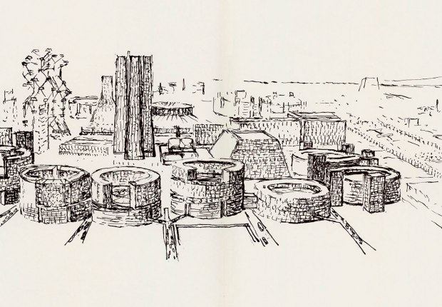 Campaign to reissue 'The Notebooks and Drawings of Louis I. Kahn'. Image courtesy of Designers & Books