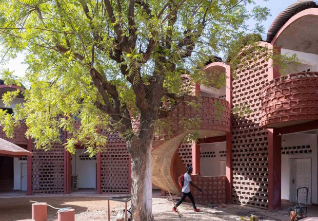 Tambacounda Hospital by Manuel Herz Architects. Photograph by Iwan Baan
