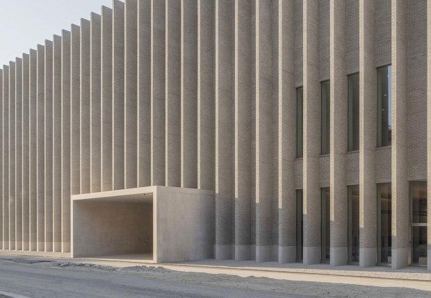 Museo Cantonal de Bellas Artes por Barozzi / Veiga. Fotografía de Matthieu Gafsou