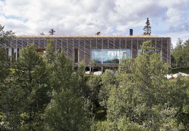 Skygard Hytte por Mork-Ulnes Architects. Fotografía por Bruce Damonte