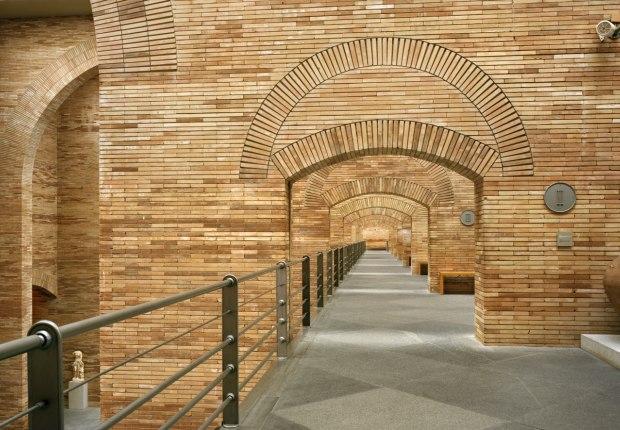 Museo Nacional de Arte Romano, Mérida, España. Fotografía © Michael Moran, image courtesy of Rafael Moneo Architects