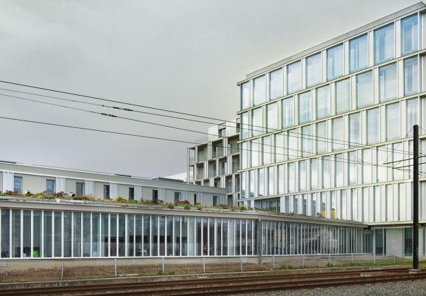 Nantes Haluchère por Thibaud Babled Architectes Urbanistes. Fotografía por Takuji Shimmura