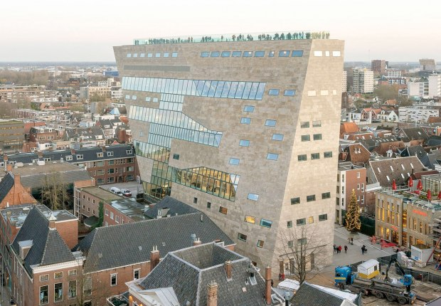 Forum Groningen by NL Architects. Photography is by Marcel van der Burg courtesy of NL Architects & ABT