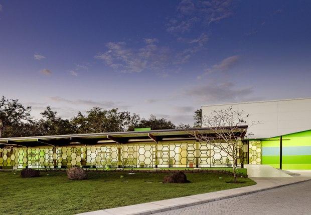 Agencia Costarricense de Investigaciones Biomédicas by Norte Sur Arquitectos. Photograph by Fernando Alda