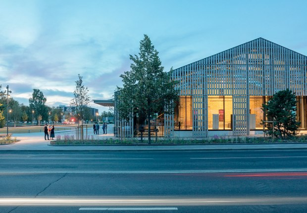 Hanzas Perons by Reinis Liepins, Sudraba Arhitektura. Photograph by Reinis Hofmanis