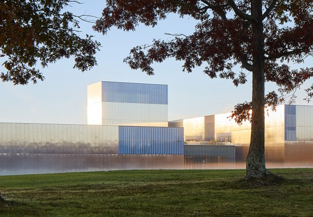 National Museum of the United States Army by SOM. Photograph by Dave Burk, SOM