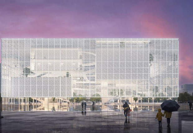 Renderings courtesy of Sou Fujimoto Architects.