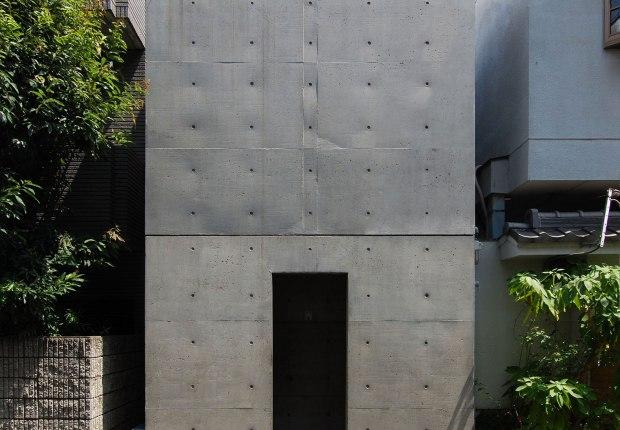 Casa Azuma por Tadao Ando. Fotografía por Hiromitsu Morimoto via CC BY-NC 2.0
