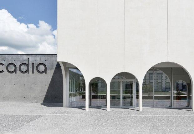 Cinema de Riom by Tracks Architectes. Photograph by Guillaume Amat