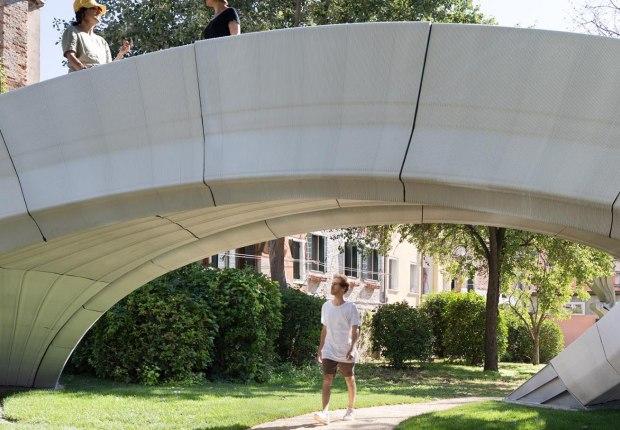 Striatus por Zaha Hadid Architects, ETH. Fotografía por Naaro