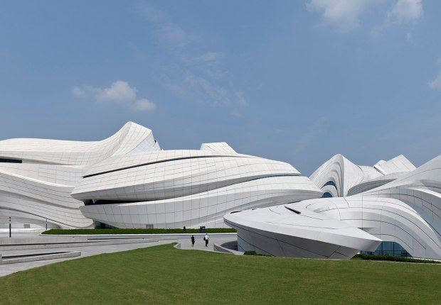 Changsha Meixihu International Culture and Art Centre by Zaha Hadid Architects. Photograph by Virgile Simon Bertrand