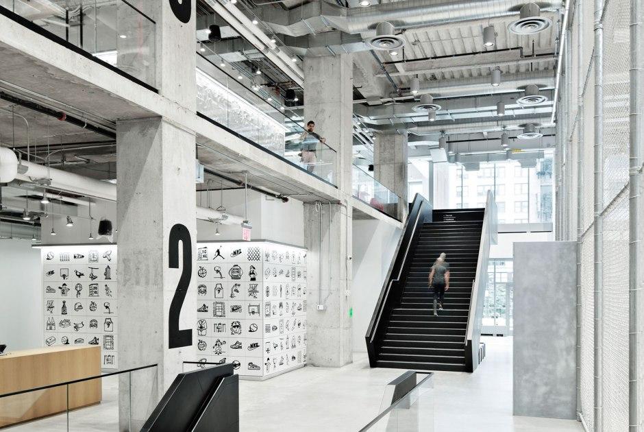 Fuera Compuesto complemento  Nuevas instalaciones de Nike en Nueva York por WSDIA | WeShouldDoItAll |  Sobre Arquitectura y más | Desde 1998