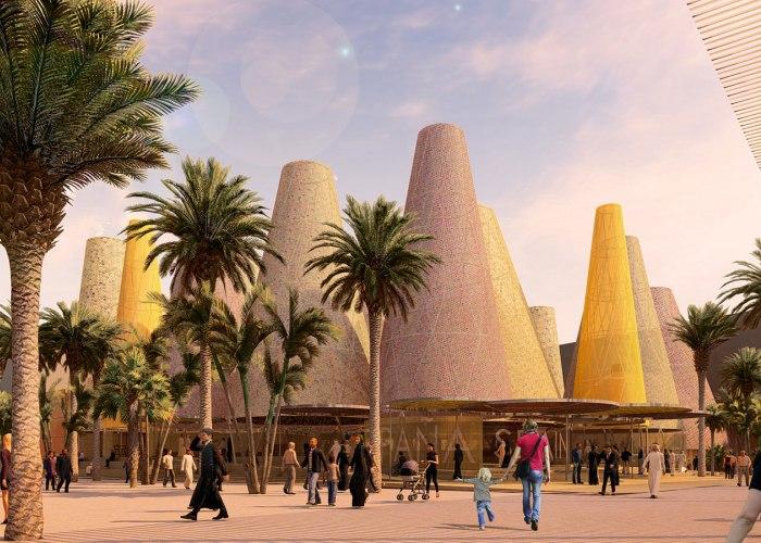 Amann-Cánovas-Maruri, winners of the competition to choose the Spanish Pavilion at the Expo Dubai 2020
