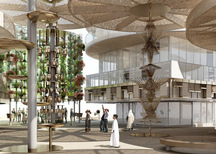 Swiss Pavilion ''The Great Complication'' at Expo 2020 in Dubai